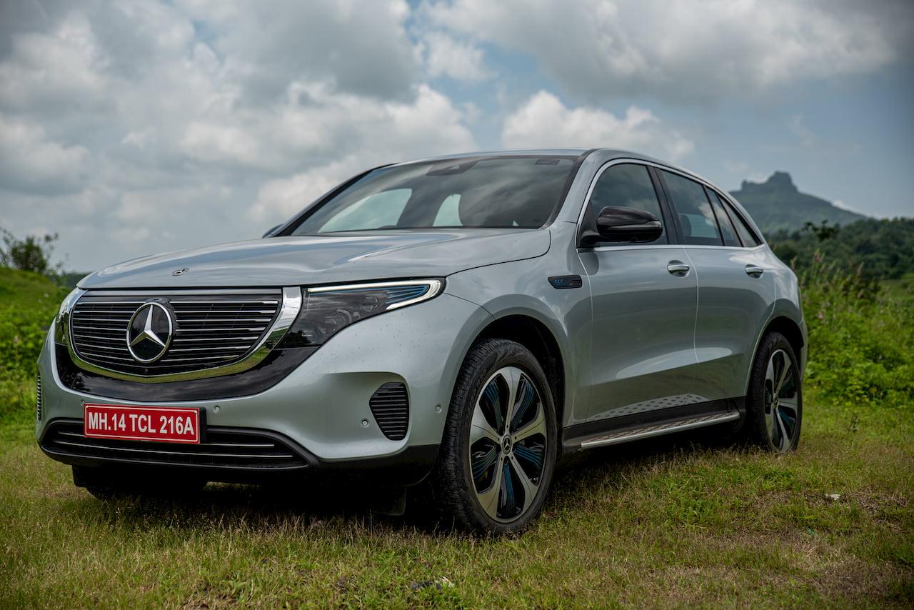 Mercedes EQC review media drive India