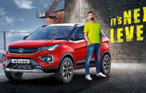 New Tata Nexon Bi Arrow grille