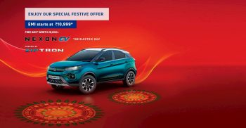Tata Nexon EV gets a grille change before the big updates