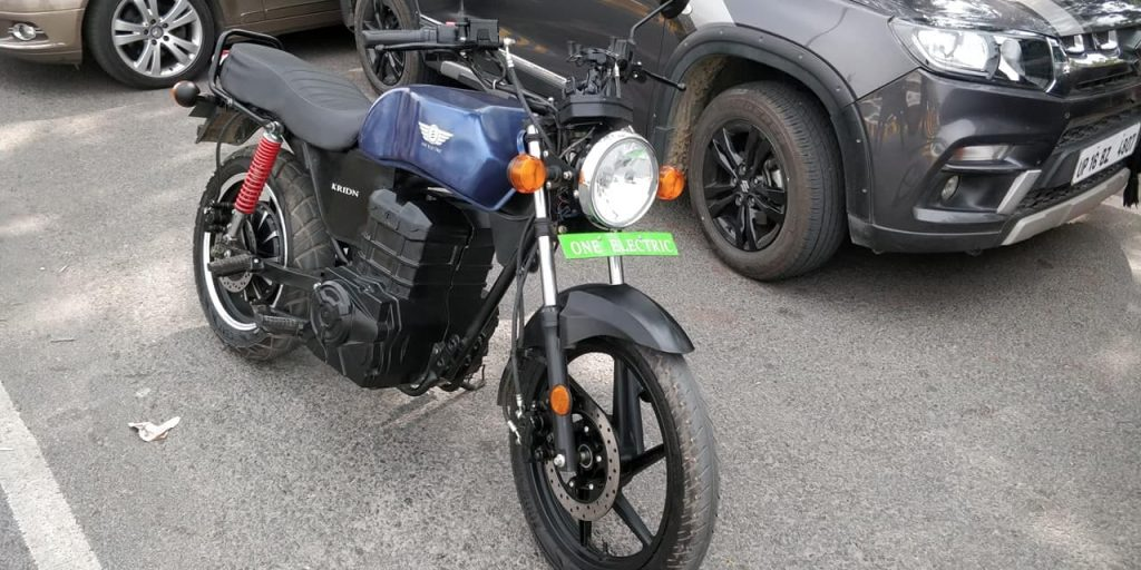 One Electric Kridn electric bike front three quarter angle