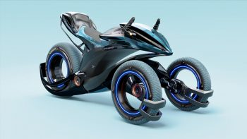 Orxa Atheris Concept is an Indian electric trike for the 2030s