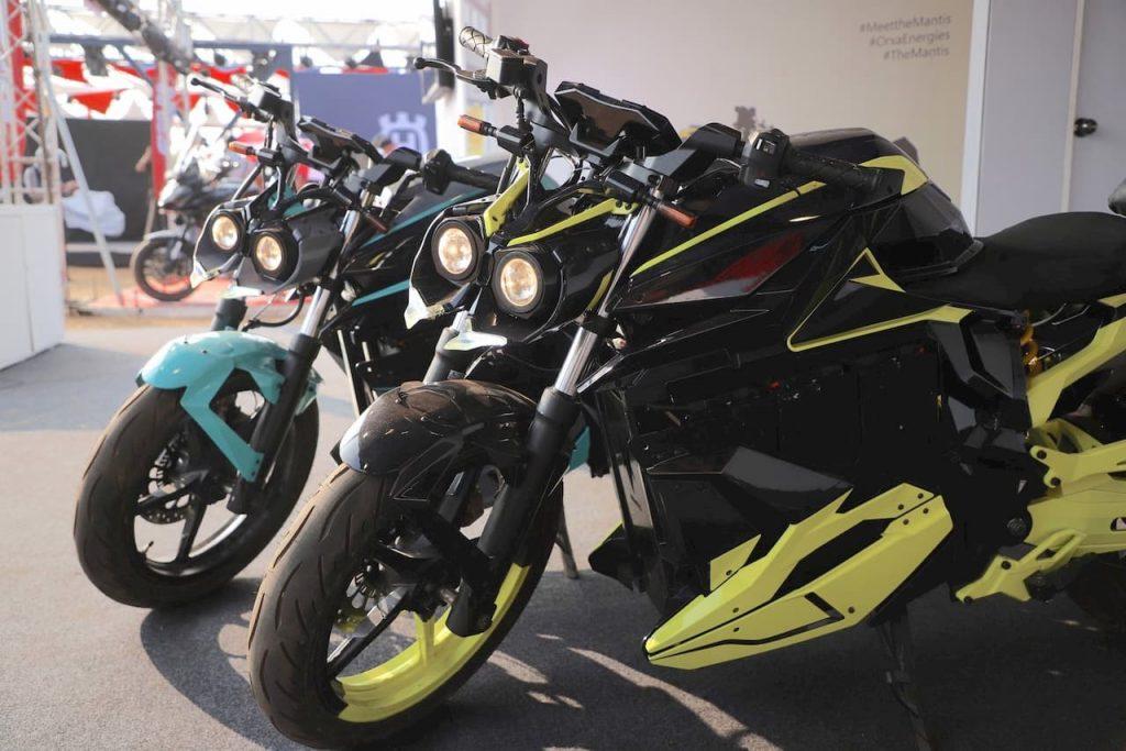 Orxa Mantis electric bike front