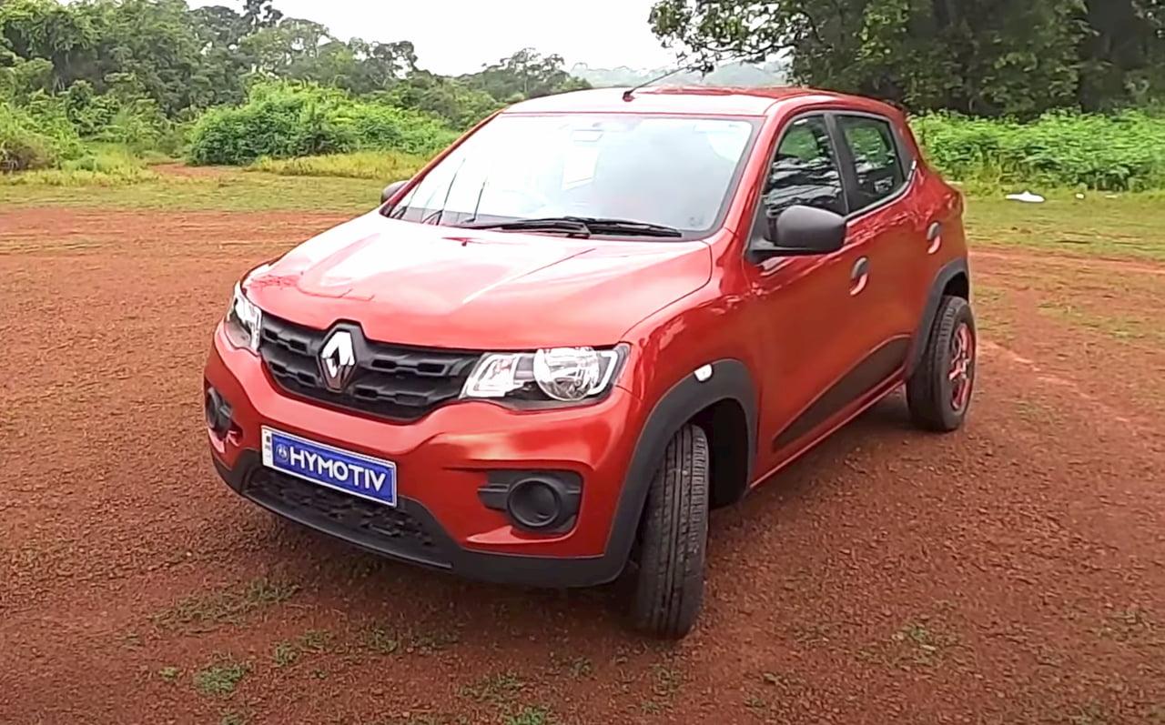 Renault Kwid hybrid electric car HyMotiv