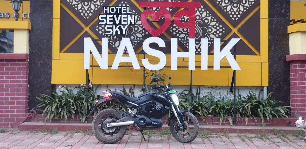 Revolt electric bike in Nashik