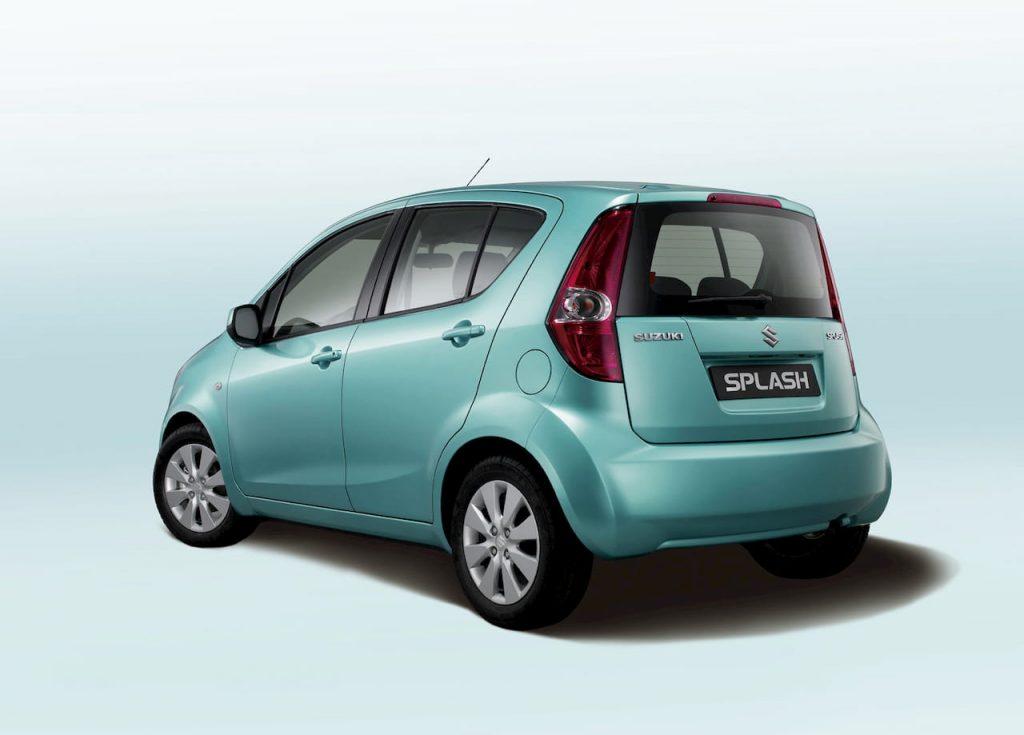 Suzuki Splash rear