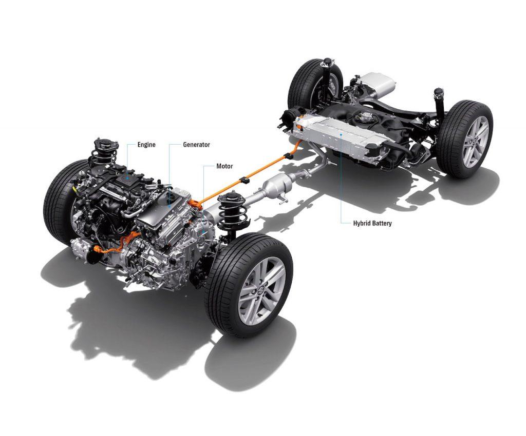 Suzuki Swace drivetrain