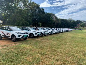 45 Tata Nexon EVs delivered to Kerala MVD, 20 more on the way
