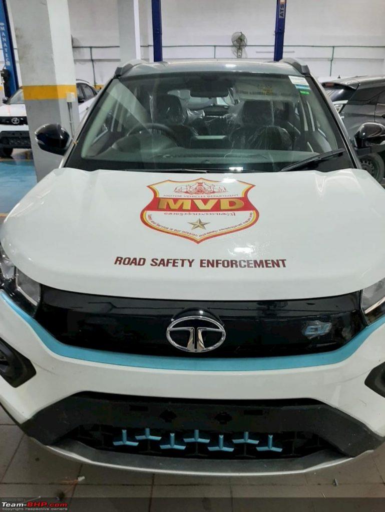 Tata Nexon EV MVD front