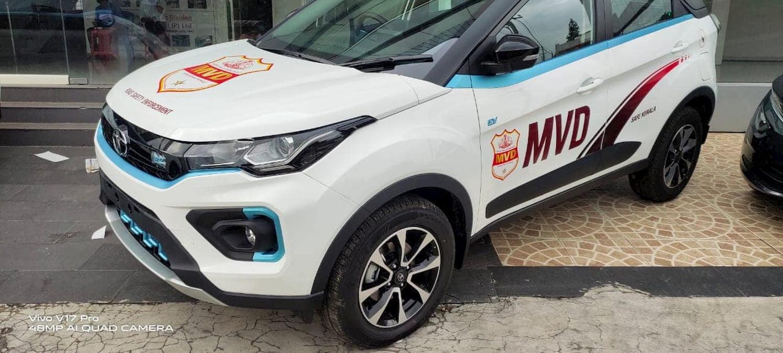 Tata Nexon EV MVD left side