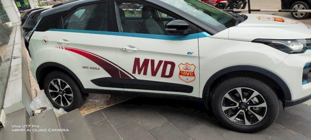 Tata Nexon EV MVD right side