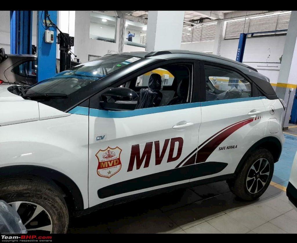 Tata Nexon EV MVD side