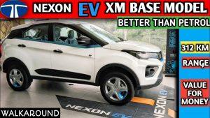 Tata Nexon EV base XM walkaround