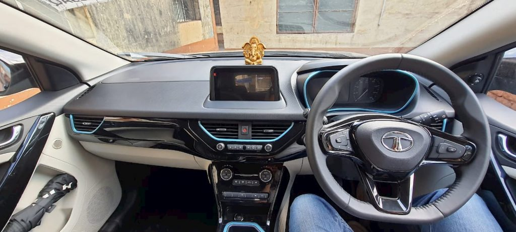 Tata Nexon EV interior Ram Mallya