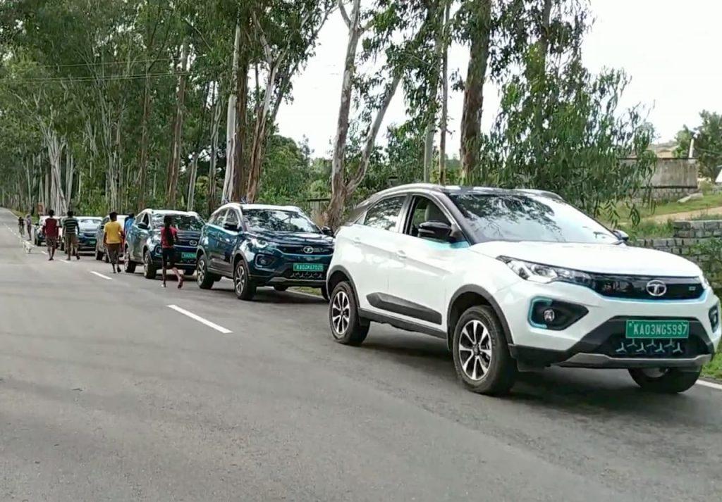 Tata Nexon EV meetup owners