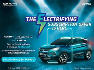 Tata Nexon EV subscription