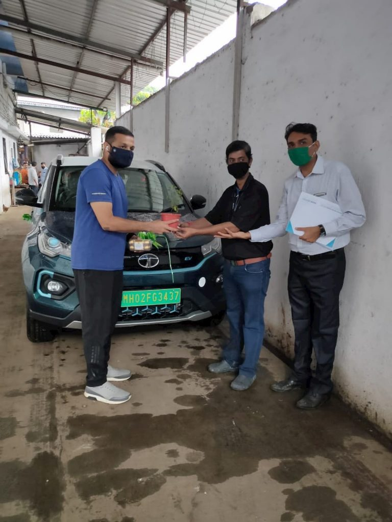 Tata Nexon EV subscription delivery
