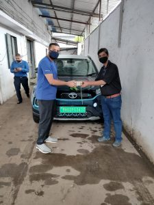 Tata Nexon EV subscription delivery EVW