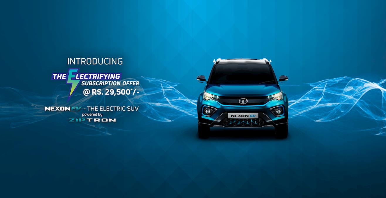 Tata Nexon EV subscription offer