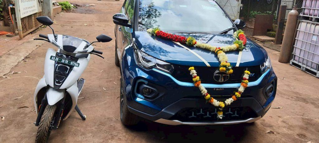 Tata Nexon EV with Ather 450