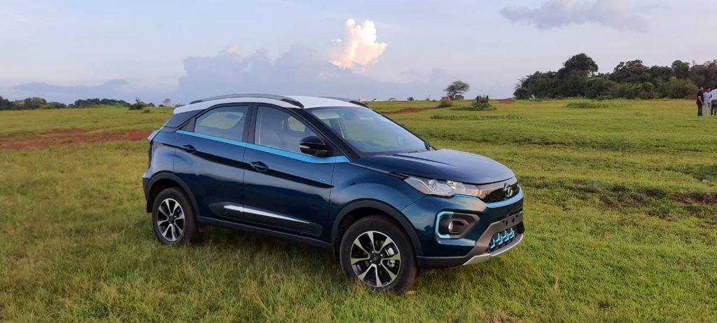 Tata Nexon front quarters review Ram Bangalore