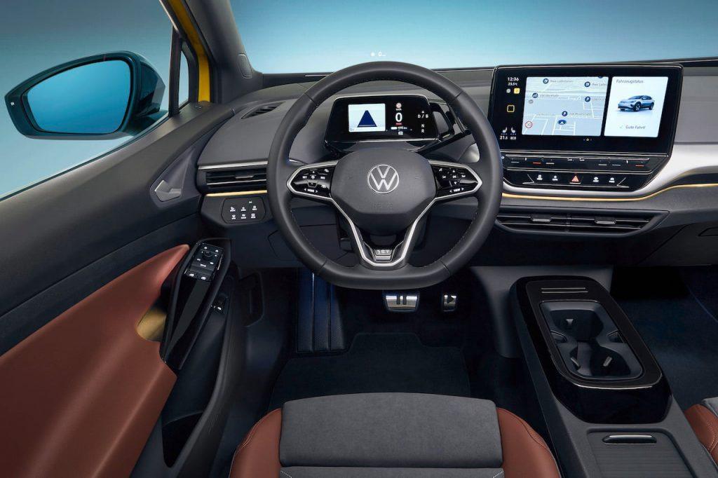 VW ID.4 dashboard driver side