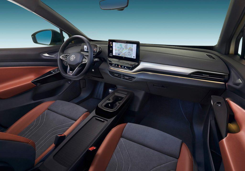VW ID.4 interior dashboard
