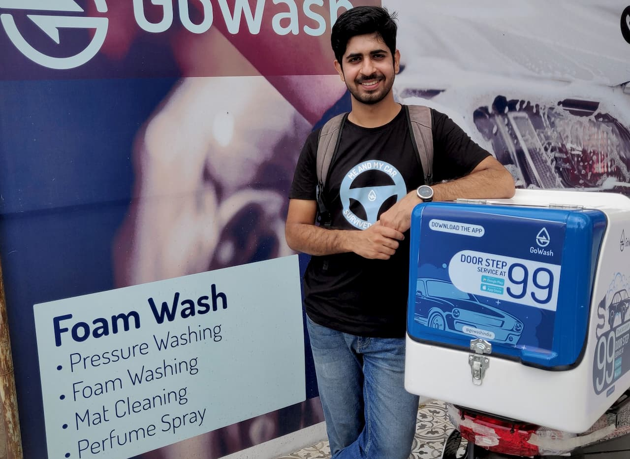 Yashwant Budhwani, Founder and CEO of GoWash