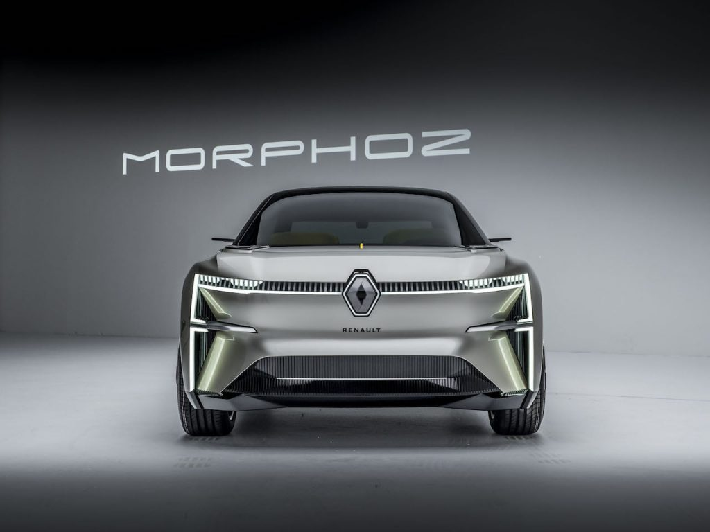 2020 Renault Morphoz concept front