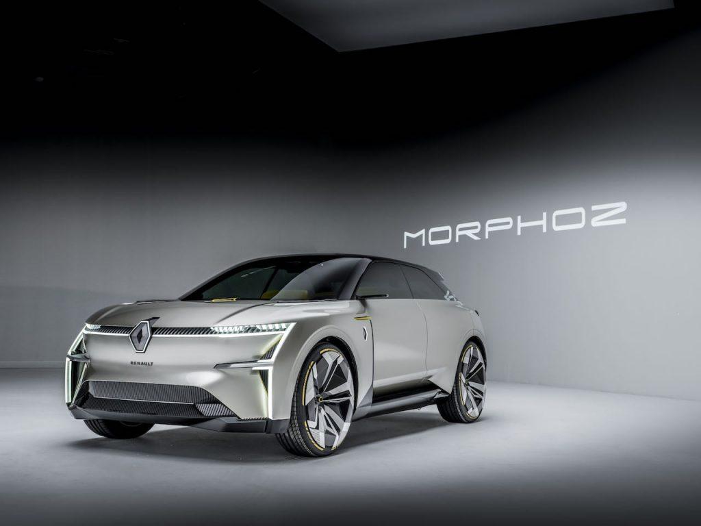 2020 Renault Morphoz concept front quarters