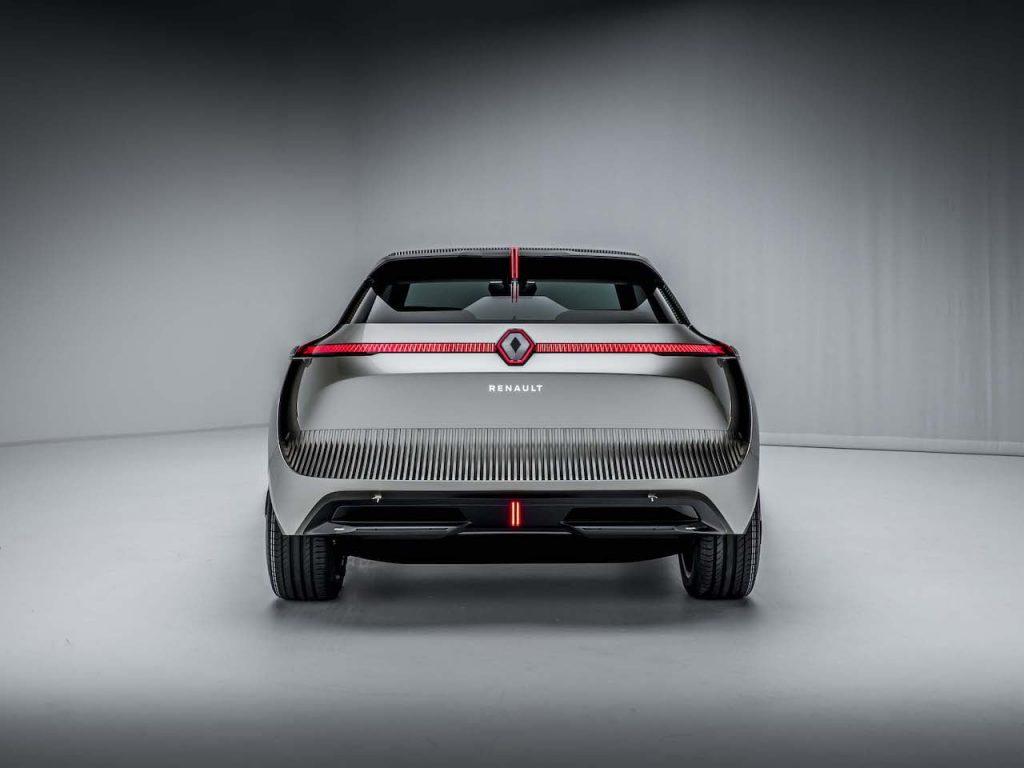 2020 Renault Morphoz concept rear