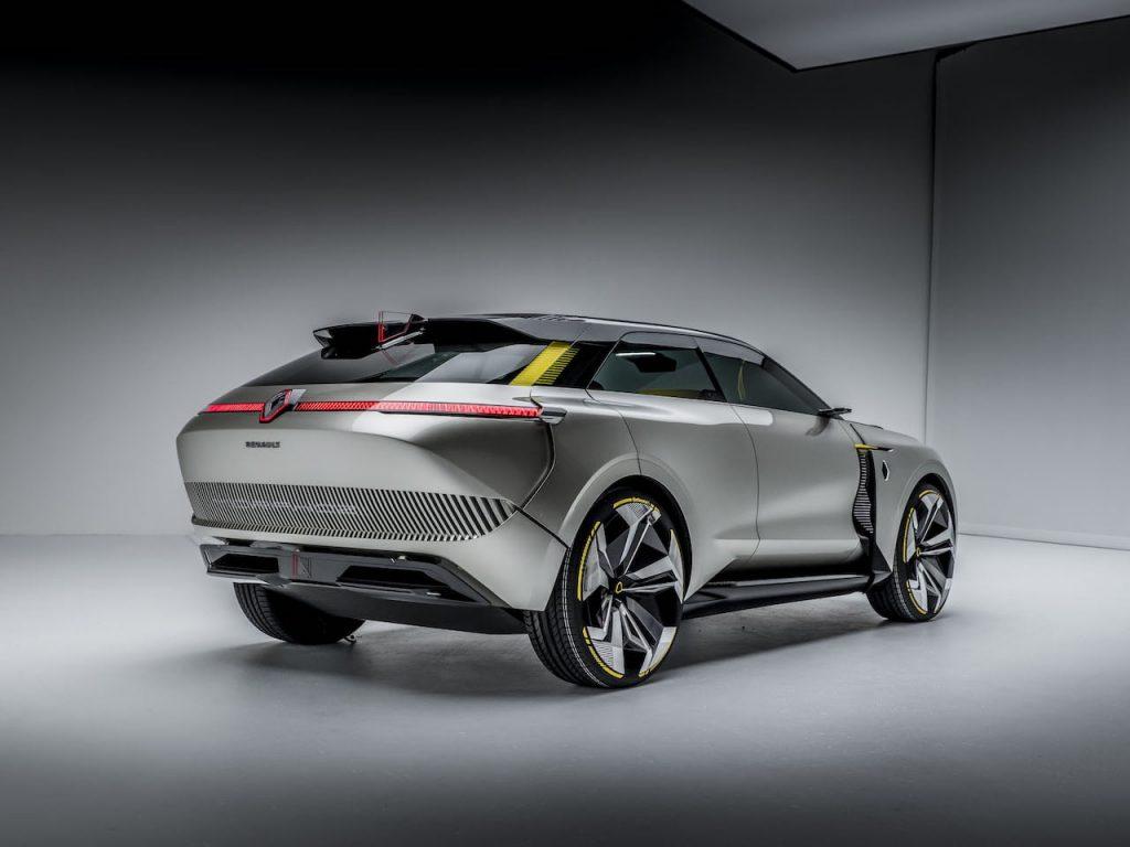 2020 Renault Morphoz concept rear quarters