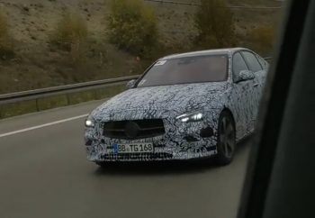 2021 Mercedes C-Class gets predictable design changes [Update]