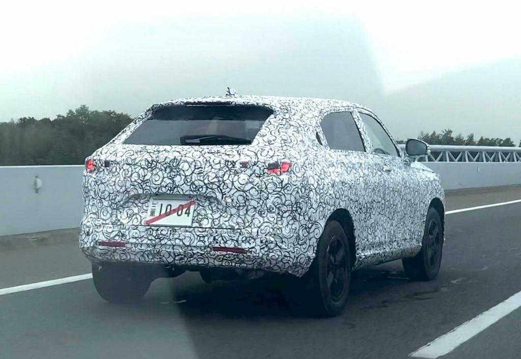 2021 Honda HRV Vezel spy shot
