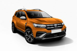 2024 Dacia Duster render front