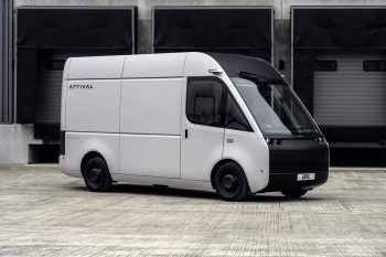Arrival unveils updated van; could eventually open sales in India [Update]