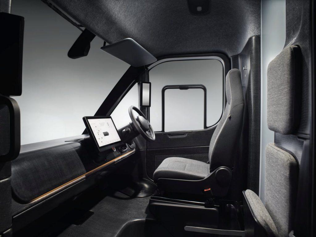 Arrival Van interior dashboard