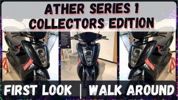 First Ather 450X Series 1 walkaround video surfaces online