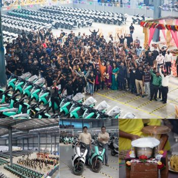 Ather 450 Plus & Ather 450X production at new plant begins, launching in new cities