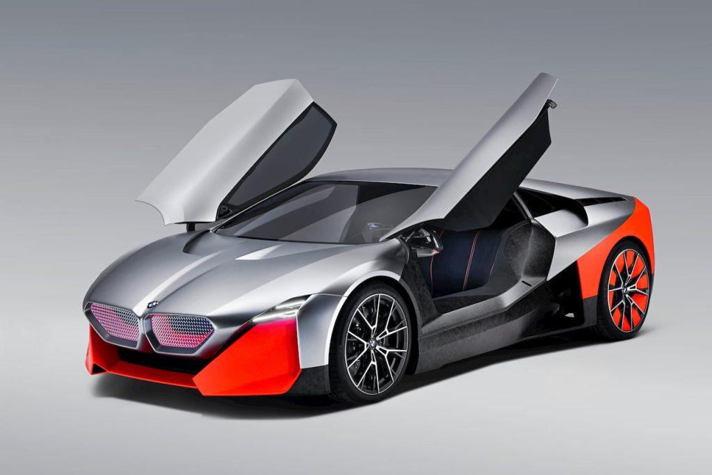 BMW Vision M NEXT front quarters doors EVW