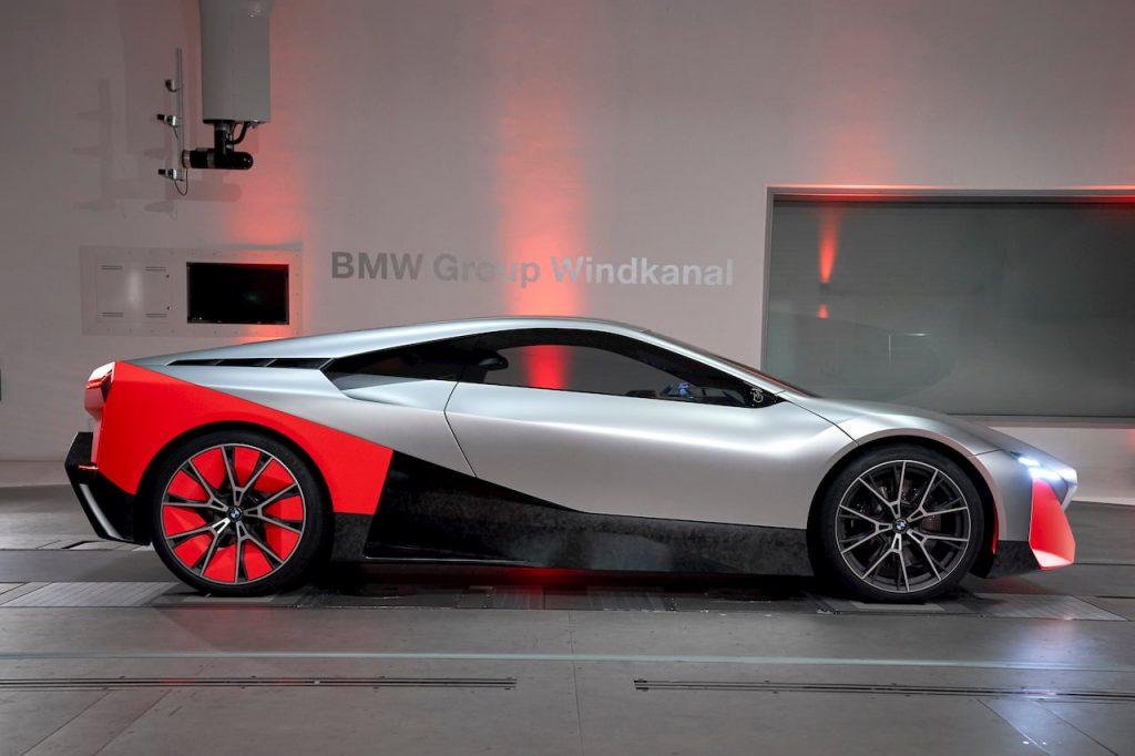BMW Vision M NEXT side profile EVW