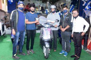 Bgauss electric scooter Bengaluru launch showroom