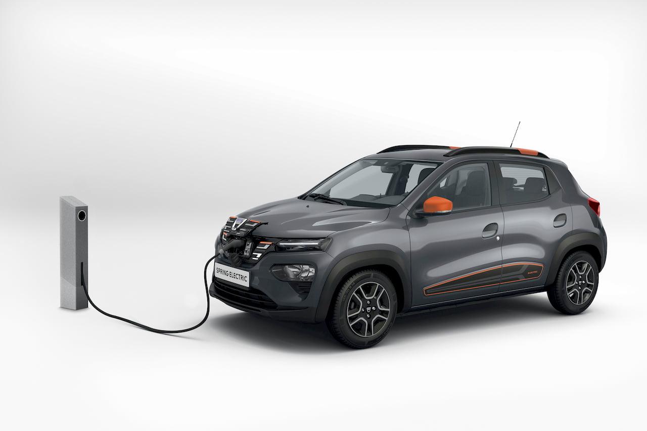 Dacia Spring Electric charging