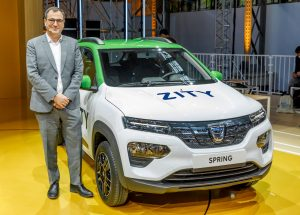 Dacia Spring Electric unveiling