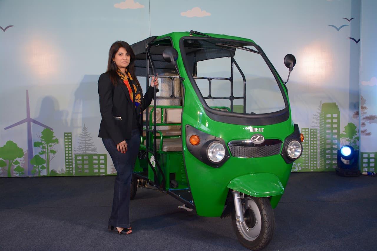 Kinetic Green Sulajja Firodia Electric Vehicle