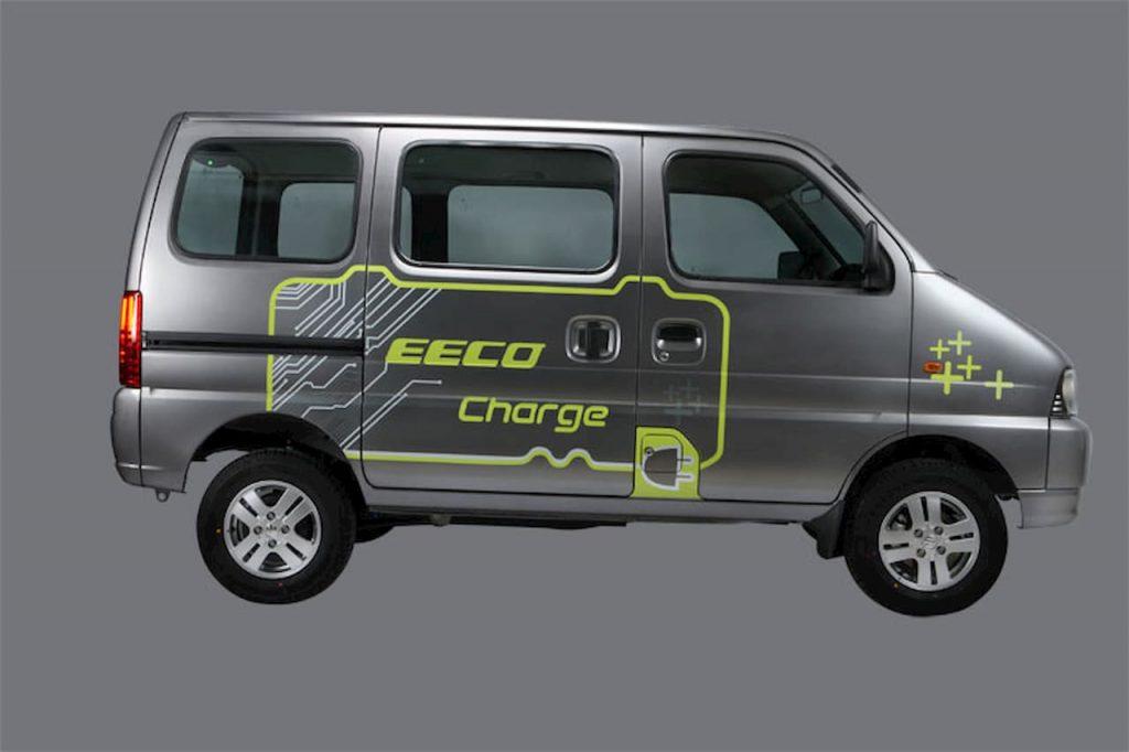 Maruti Eeco Charge electric vehicle