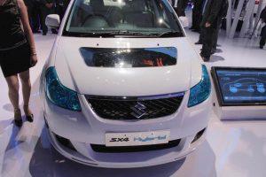 Maruti SX4 Hybrid front at 2010 Auto Expo