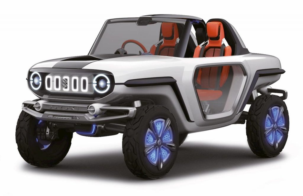 Maruti e-Survivor electric concept
