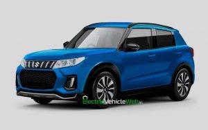 Next-gen Maruti Suzuki Ignis successor rendering