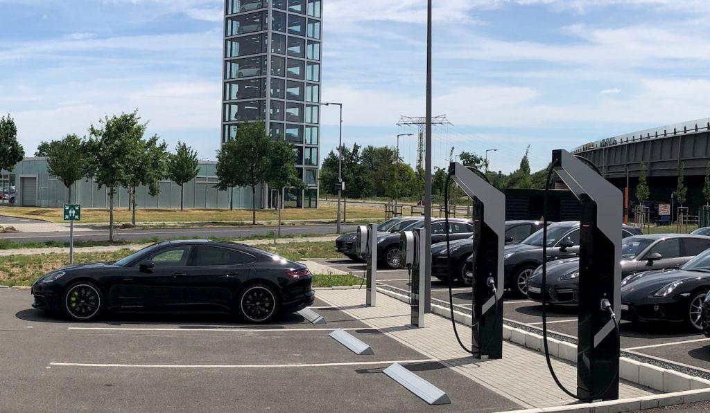 Porsche fast charging park, Berlin-Adlershof