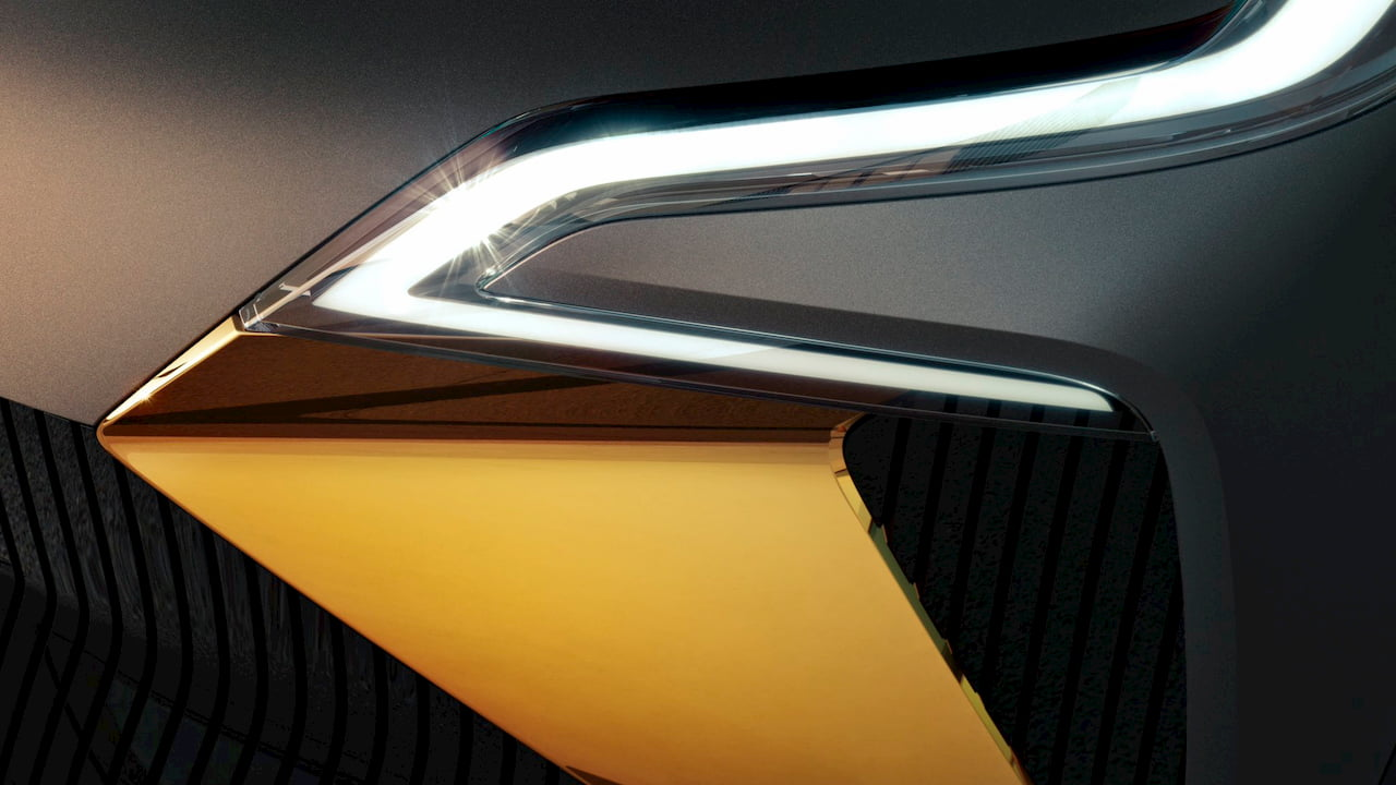 Renault electric SUV coupe teaser